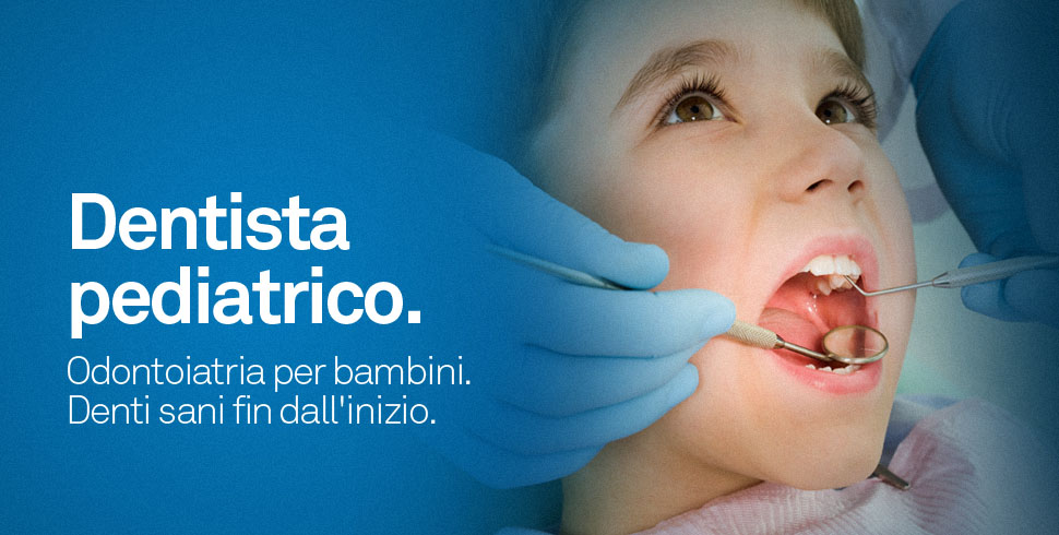 dentista per bambini pedodonzia