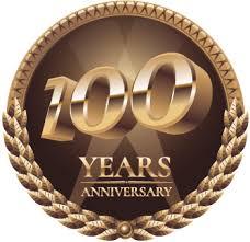 medaglia dei 100 anni raggiunti