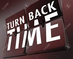 tornare indietro nel tempo